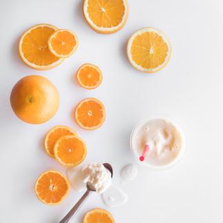 Orange Sunrise Flavor Cues