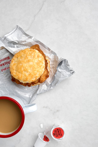 Biscuit & coffee