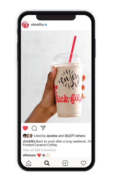 Social Frosted Coffee
