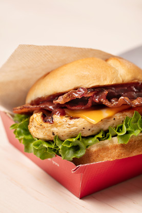 That bacon + grilled feeling