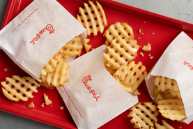 Waffle fries for the win