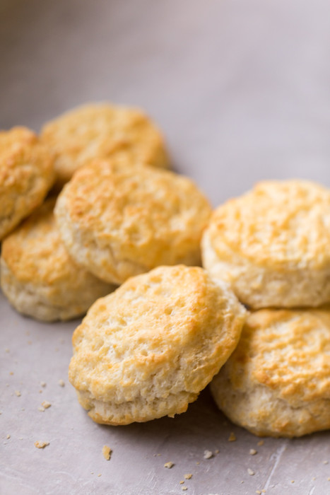 Biscuits made by hand