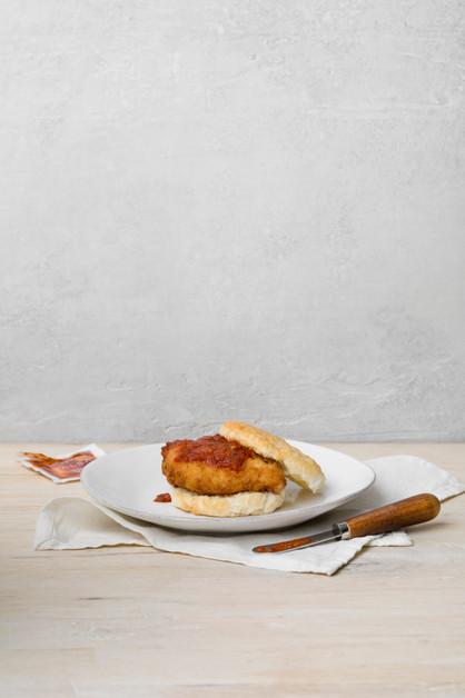 Editorial chicken biscuit