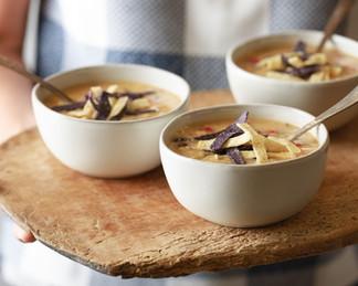 Chicken tort soup, anyone?