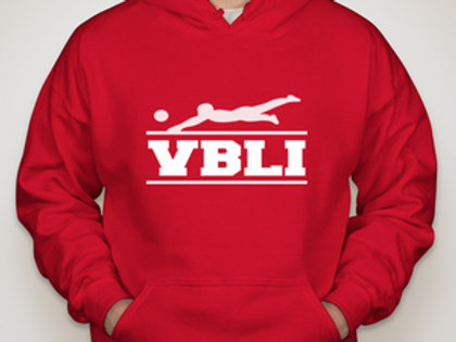 Classic Hoodie, Signature w/VBLI Patch and Distressed American Flag