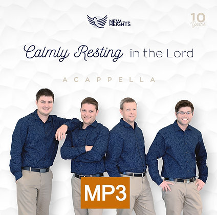 Album 5 - Calmly Resting In the Lord (MP3-zip file)