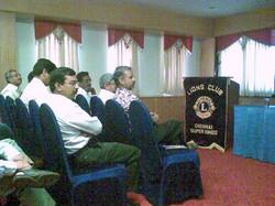 talk at lions club