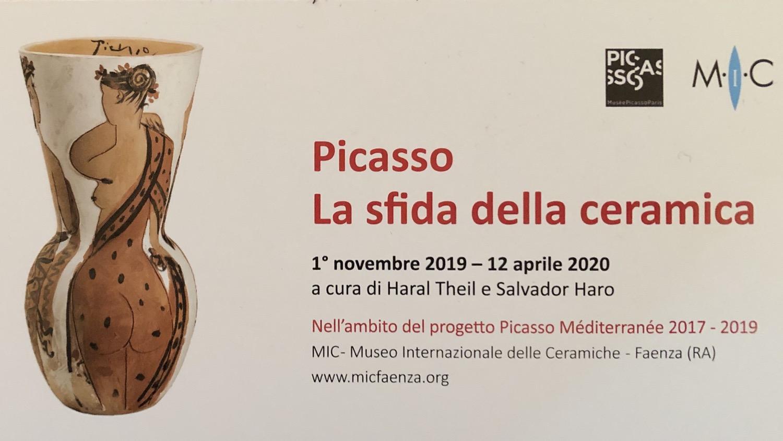 """Picasso """" la sfida della ceramica """""""