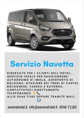 Ideal shuttle for your travels.