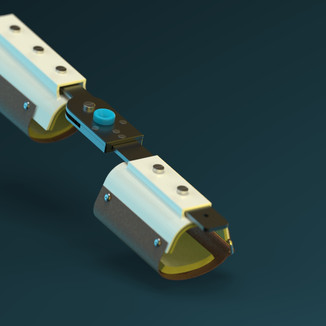 Modeled in Solid Works