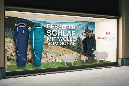 Schaufenster - Besserer Schlaf mit Wolle vom Schaf