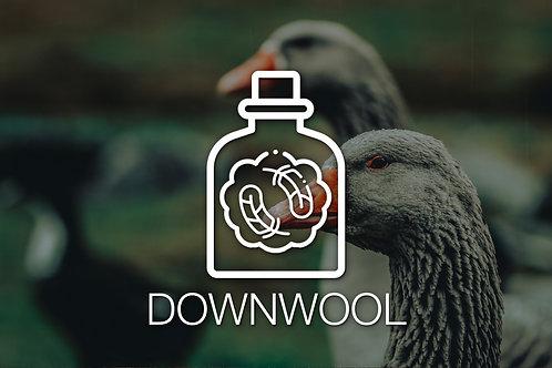 Materialmuster DownWool & Almwolle (Lavalan)