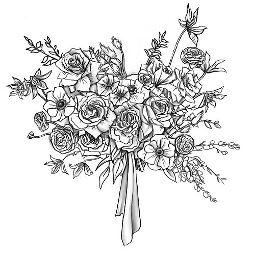 Standard Bridal Bouquet