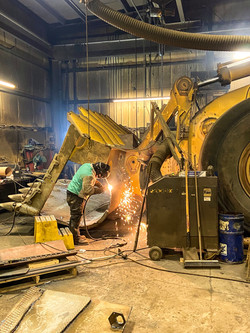 Heavy Equipment Welding Repair