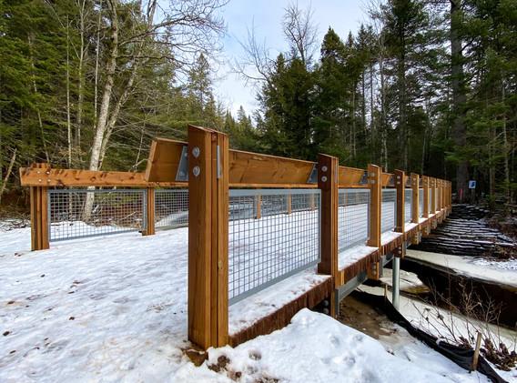 Mill Creek Nature Park Bridges for the T