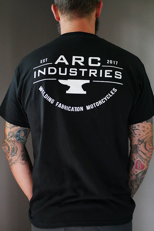 ARC Industries T-shirt (back)