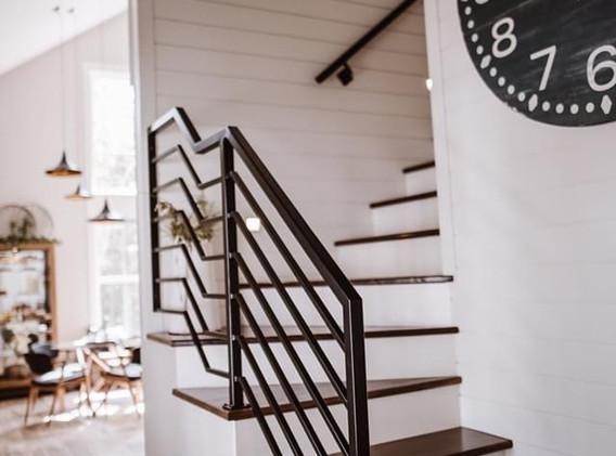 Custom Steel Railing and Handrails