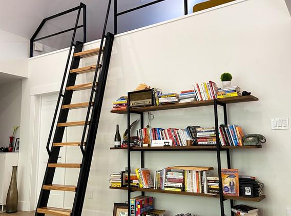 Custom Loft Access Ladder