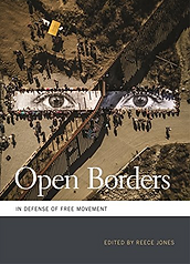 "Book cover image for ""Open Borders: In Defense of Free Movement edited by Reece Jones"""