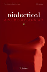 "Book cover image for academic journal ""Dialectical Anthropology"""