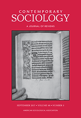 "Book cover image for journal ""Contemporary Sociology: A Journal of Reviews"""
