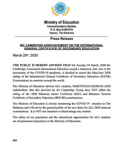 revised_cambridge_announcement on igcse
