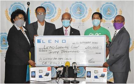 leno donation.JPG