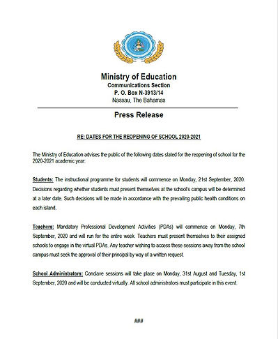 Press_release_dates for reopening of sch