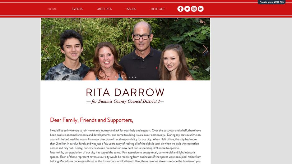 Political Campaign Site