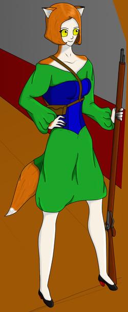 fox girl highlight
