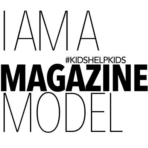 Magazine Model Tee
