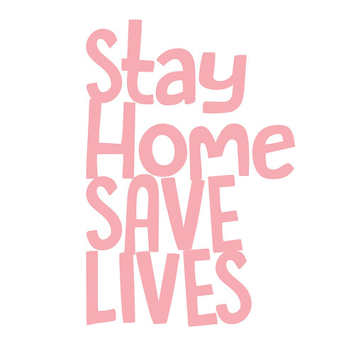 Stay HOME Save LIVES Tee