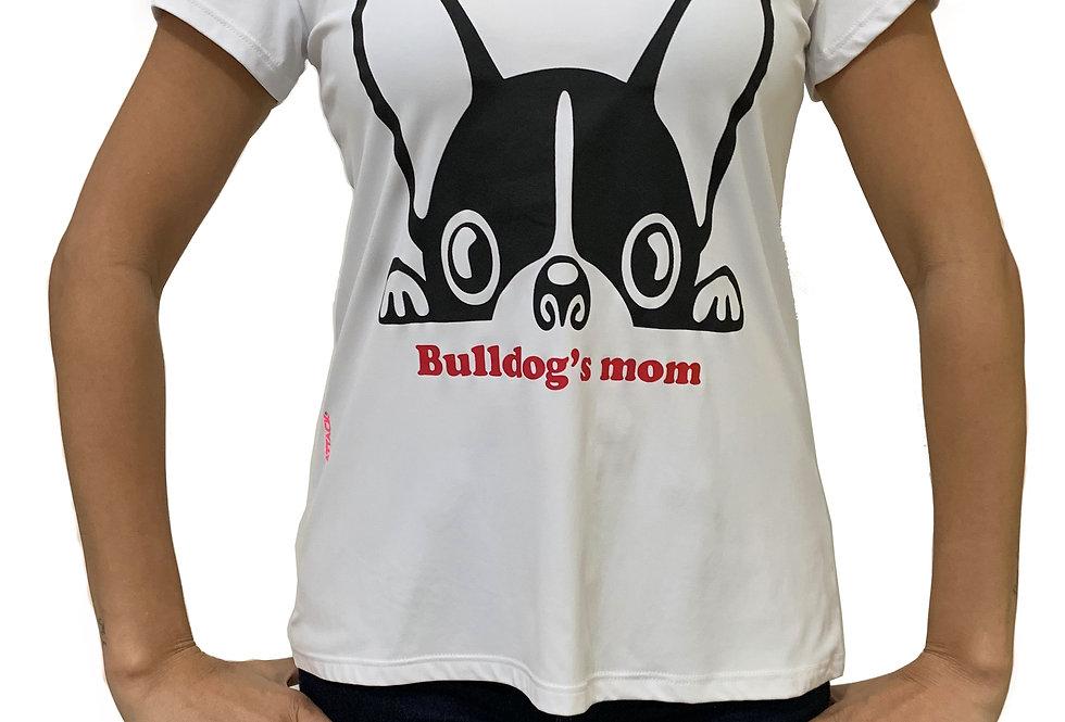 Camiseta Bulldog's Mom