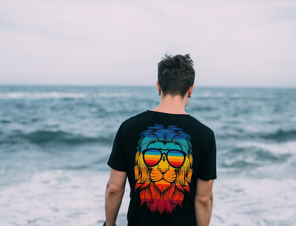 Camiseta Leão Retrô