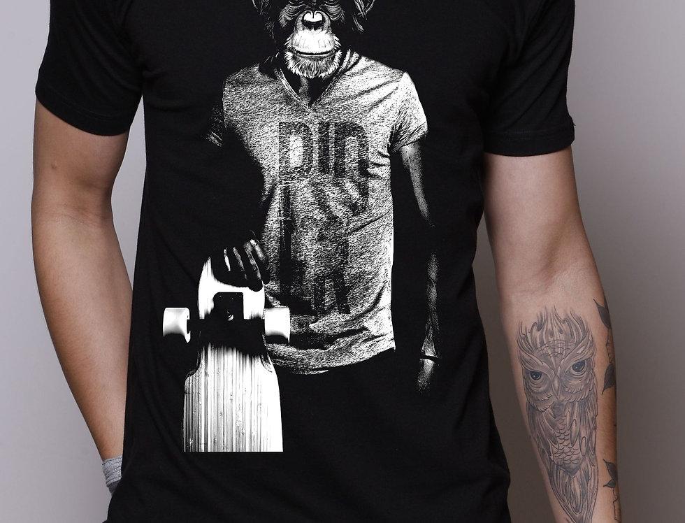 Camiseta Skate Monkey