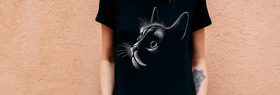 Camiseta Gatinho