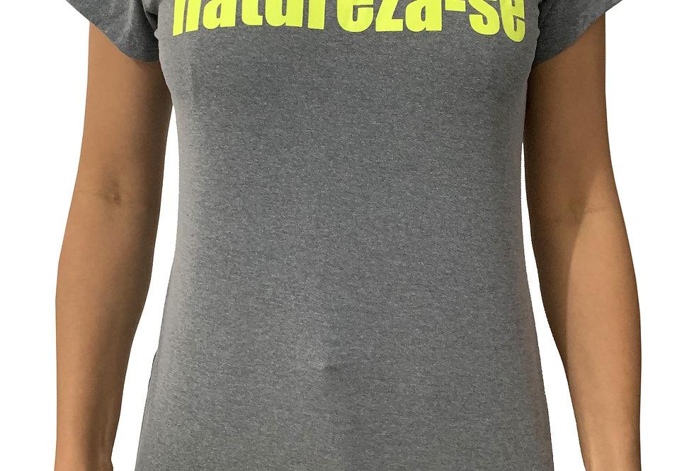 Camiseta Natureza-se CINZA