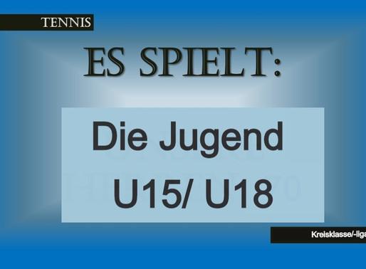 U15 bisher ungeschlagen - U15 Junioren Kreisliga-Meister, U15 Mädels ungeschlagen, noch ein Spiel.