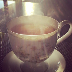 Tea time! _D #geekcafe #coffeeshop #coffeebar #cafe #battleandbrew #pinkyout #tea #teatime #hightea