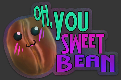 Sweet Bean Sticker