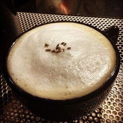 Earl Grey de la creme tea latte with an in house made lavender simple syrup.jpg
