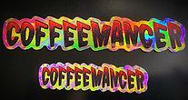 COFFEEMANCER Sticker