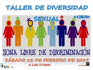 Taller de Diversidad Sexual en Villanueva De la Torre