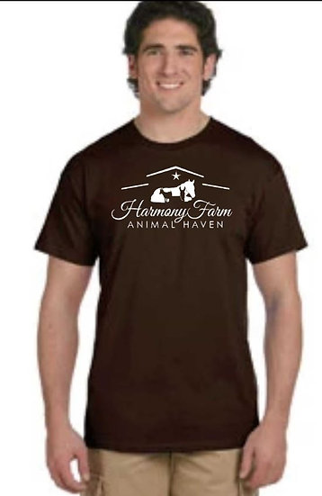 Regular Cut T-shirt (Dark Chocolate)