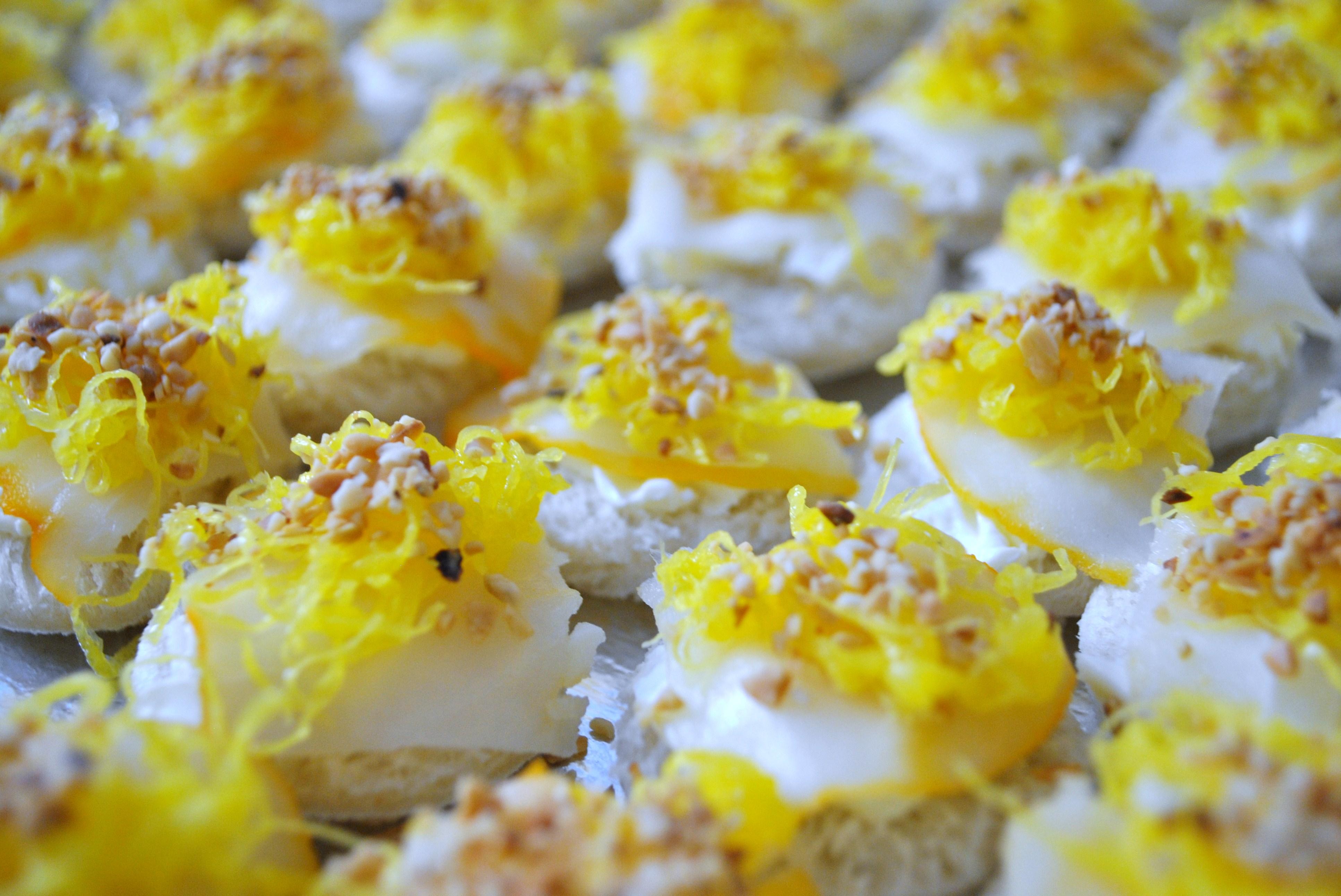 Haddock com fios de ovos