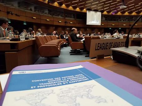 Alain PEREA représente la France à la convention ONU contre le trafic illicite de migrants