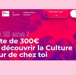 Tous les jeunes de 18 ans bénéficient désormais d'un Pass Culture de 300€