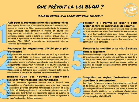 Que prévoit la loi ELAN en six points...