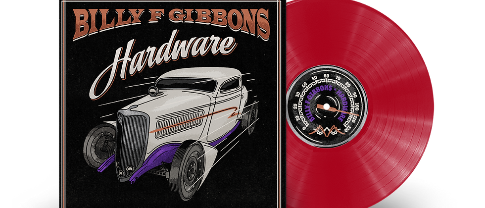 Billy F Gibbons - Hardware (Red Vinyl/ Gift)