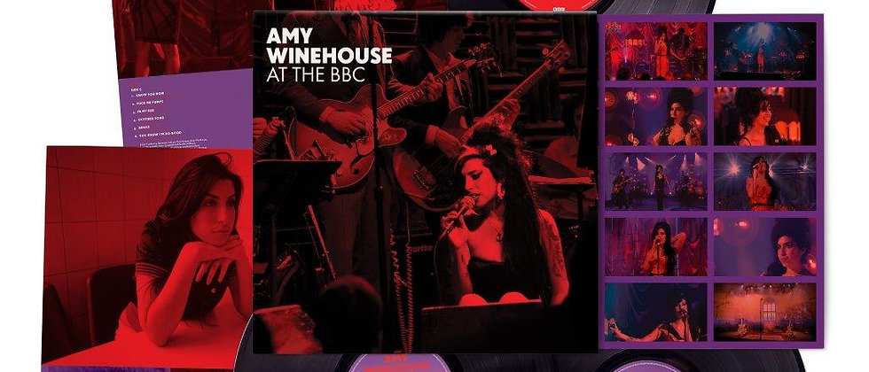 Amy Winehouse - Live at The BBC 2021 Reissue.